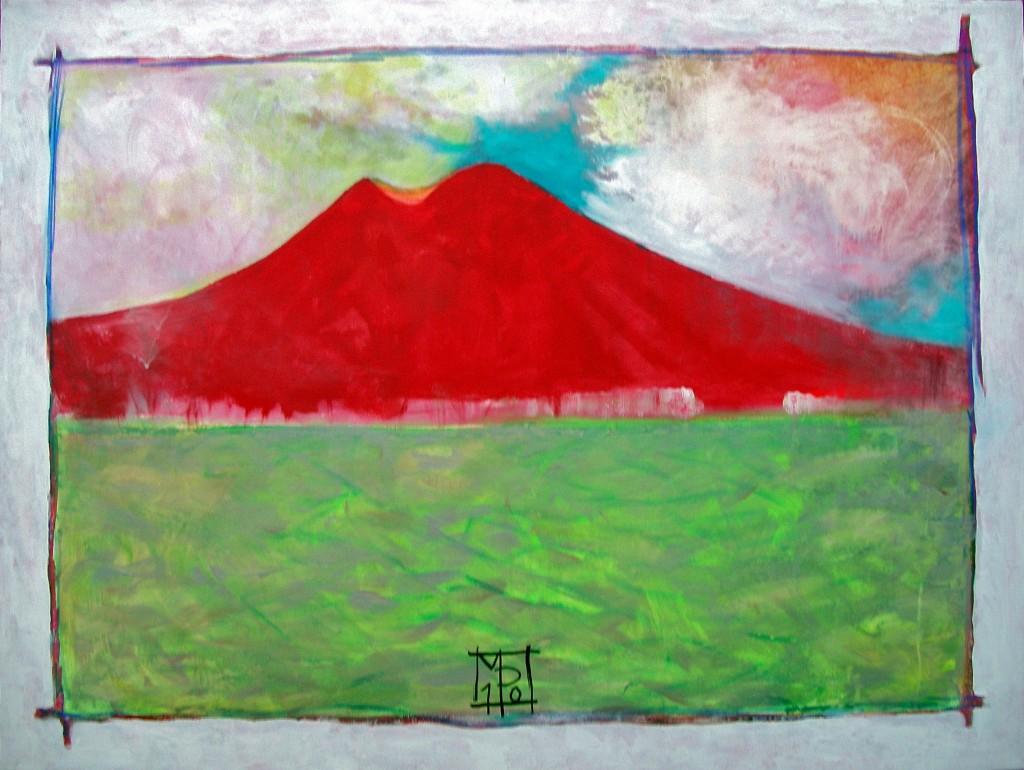 Michel Pochet - Vesuvio - La via della Bellezza. Dal catalogo pubblicato in occasione della mostra MA(D)RI al PAN di Napoli - 2013