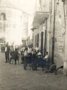 Società Operaia di Piazza Trivio in una vecchia foto